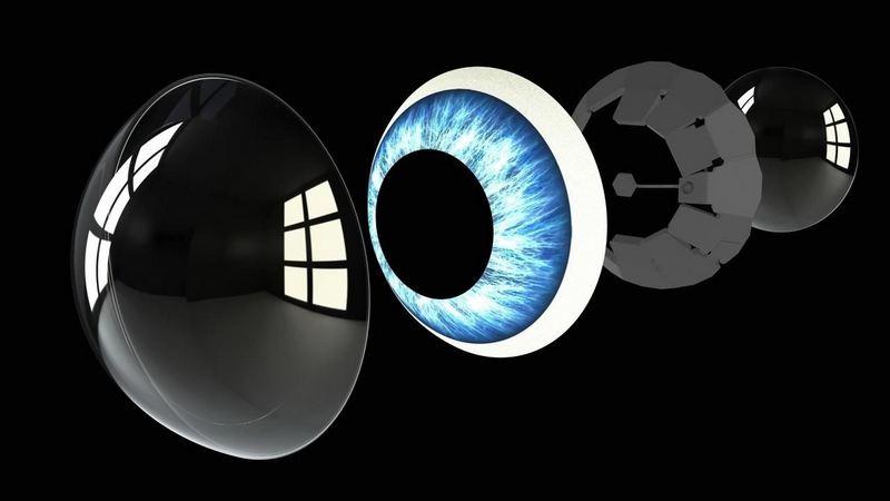 Контактните леќи можеби ќе бидат дисплеи на иднината