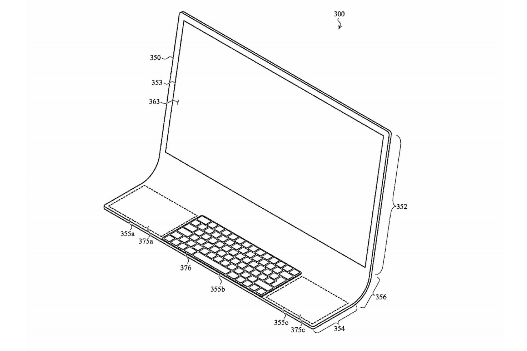 Apple патентираше iMac со екран вграден во закривено стакло