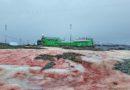 """""""Крвав"""" снег ја завеа украинската поларна станица"""