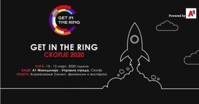 Натпреварот Get in the Ring повторно во Скопје