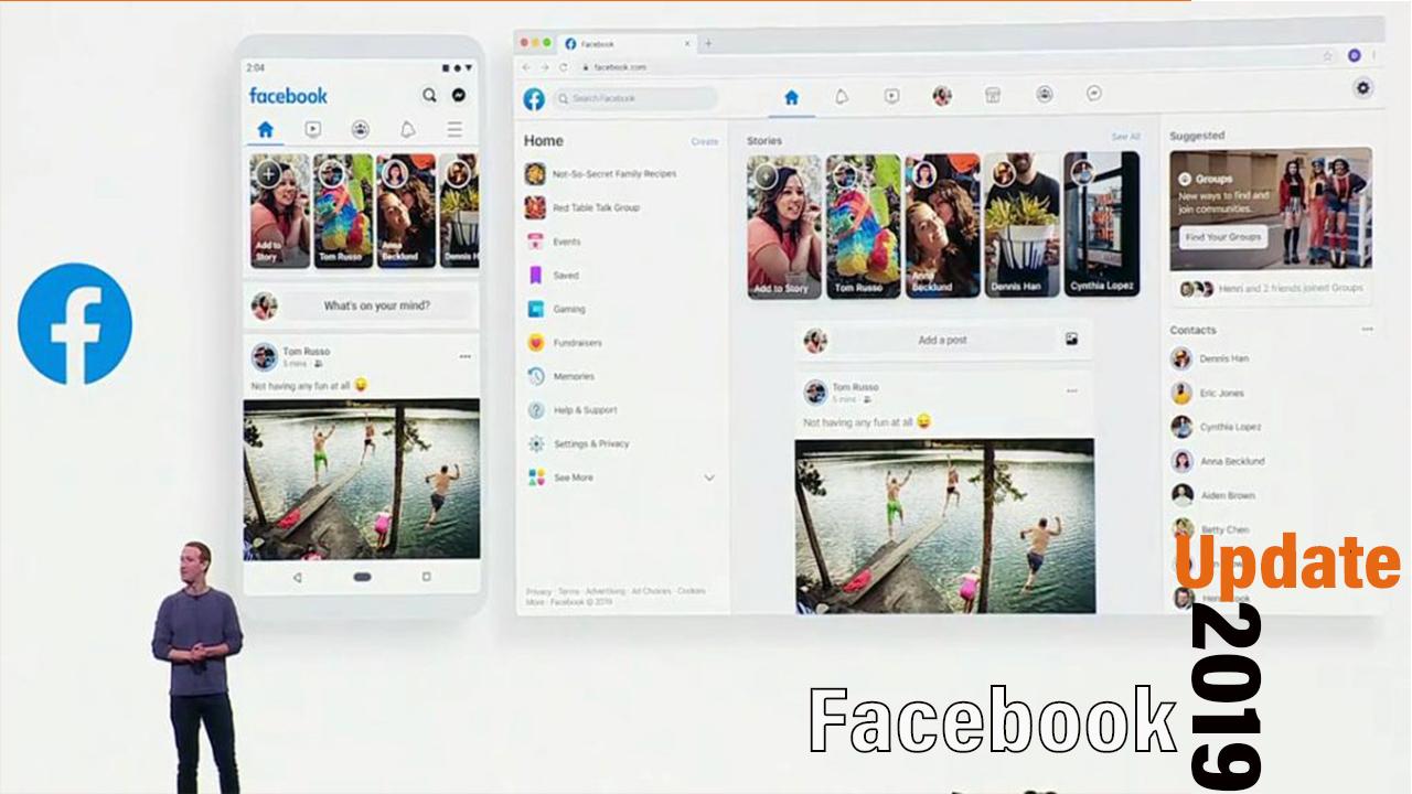 Новиот дизајн на Facebook започна да се шири