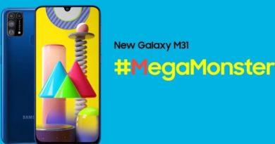 Samsung го објави Galaxy M31 со четири камери и 6000mAh батерија (ВИДЕО)