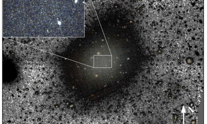 Истражувачите ја решаваат тајната на галаксијата без темна материја