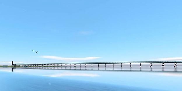 Во Холандија се гради најдолгиот мост за пешаци и велосипедисти во Европа (ВИДЕО)