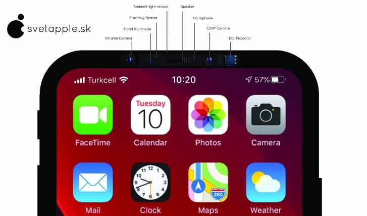 Нови рендери укажуваат на iPhone 12 дизајн без засек во дисплејот