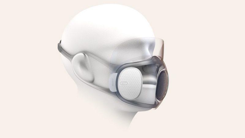 Заштитна маска која што самата се дезинфицира