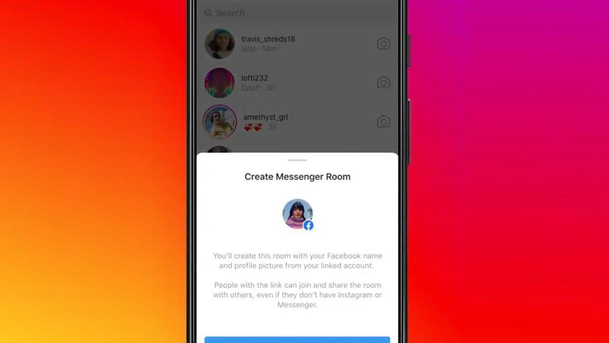 Instagram овозможува креирање на Messenger Rooms за групни видео повици