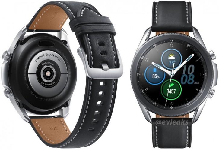 Протекоа нови фотографии од Samsung Galaxy Watch 3