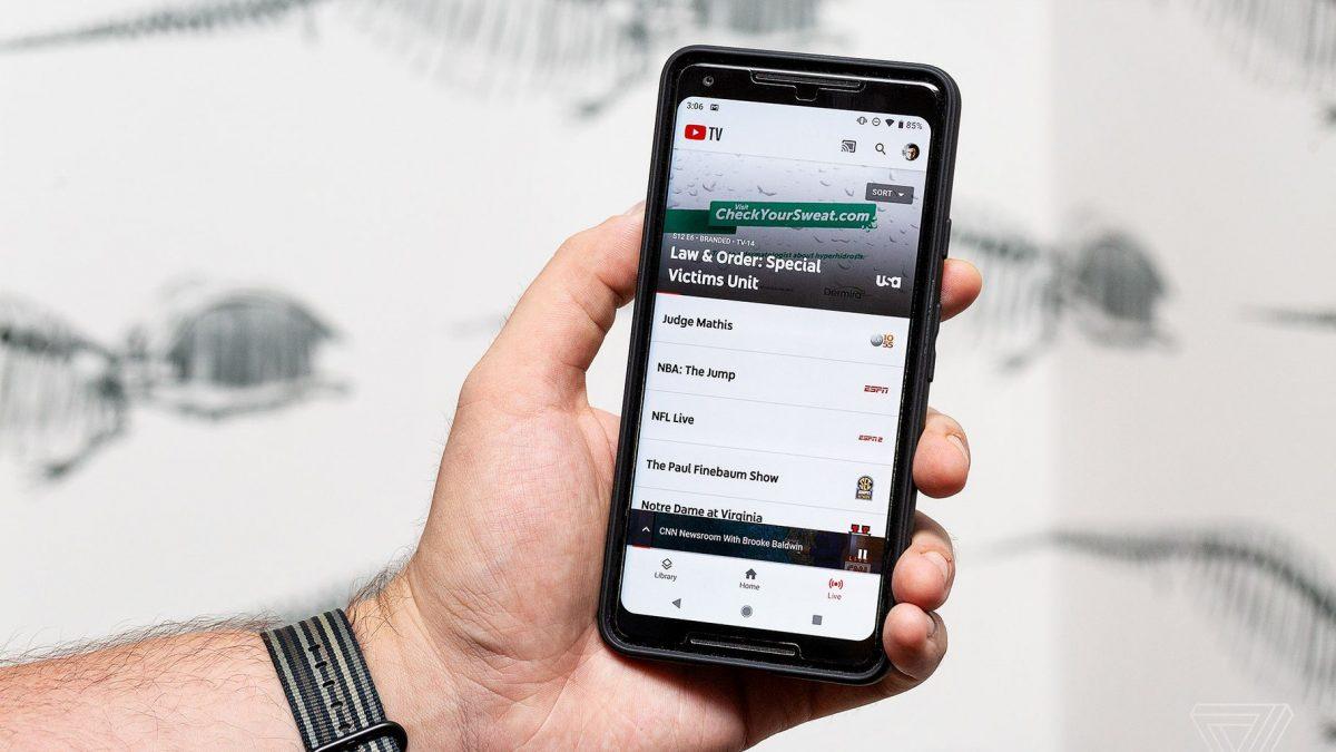 Поскапува YouTube TV платформата