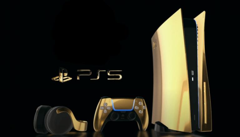 Најавен PlayStation 5 во 24-каратно злато