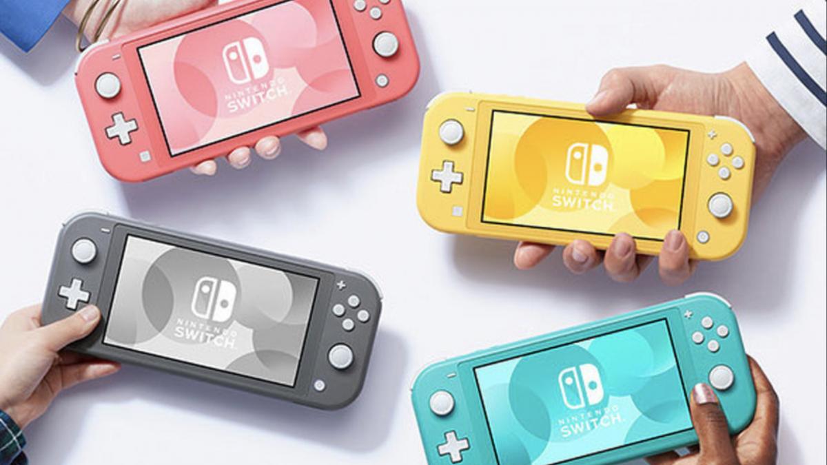 Распродадени залихите на конзолата Nintendo Switch Lite