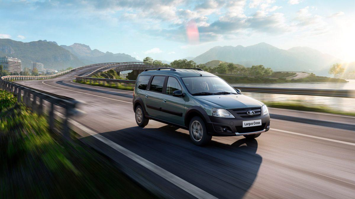 АвтоВаз го објави новиот караван Lada Largus Cross Quest