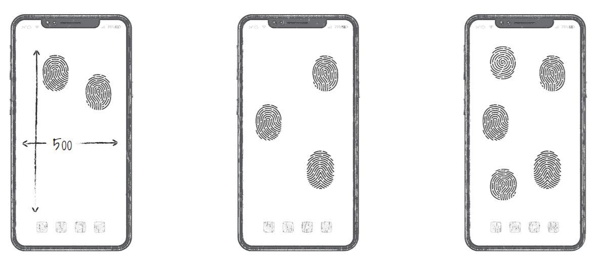 Huawei патентираше сензор за отпечатоци преку целиот дисплеј