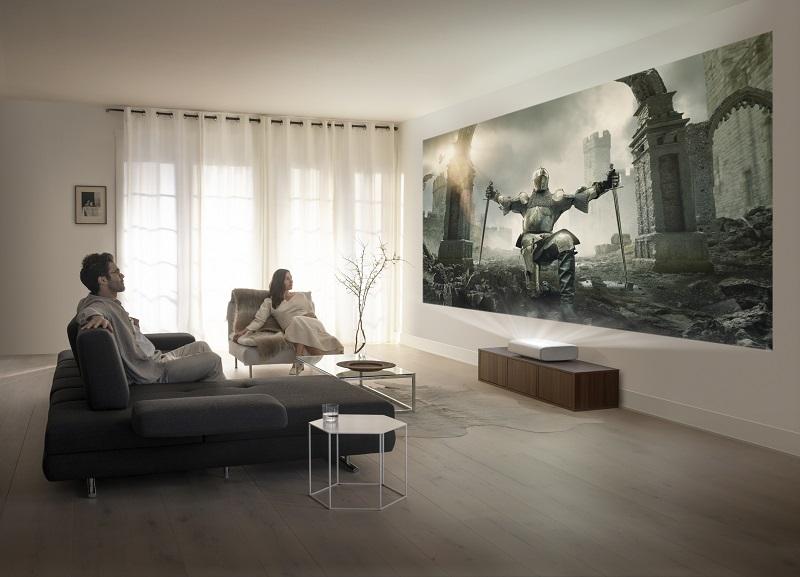 Совршено домашно кино – Samsung го претстави тројниот ласерски 4K проектор The Premiere