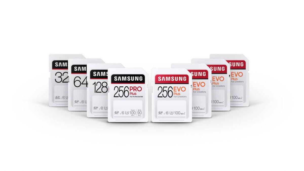 Samsung ги претстави PRO Plus и EVO Plus SD картичките