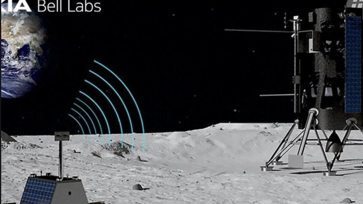 Nokia доби договор за воспоставување 4G мрежа на Месечината