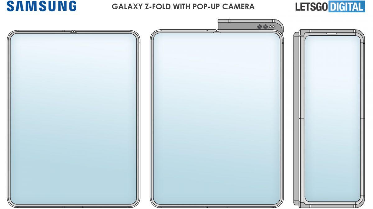 Samsung Galaxy Z Fold 3 може да има pop-up камера?