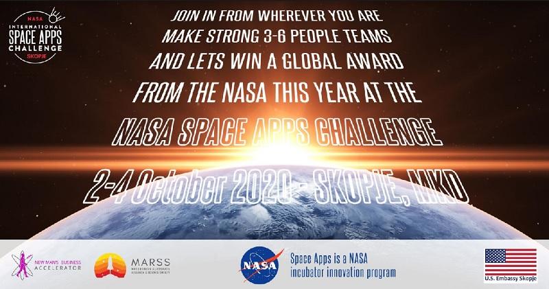 Два македонски тима во конкуренција за глобална награда на NASA
