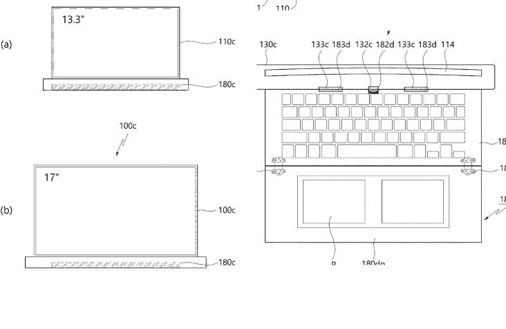 LG можеби подготвува лаптоп со екран што се развлекува