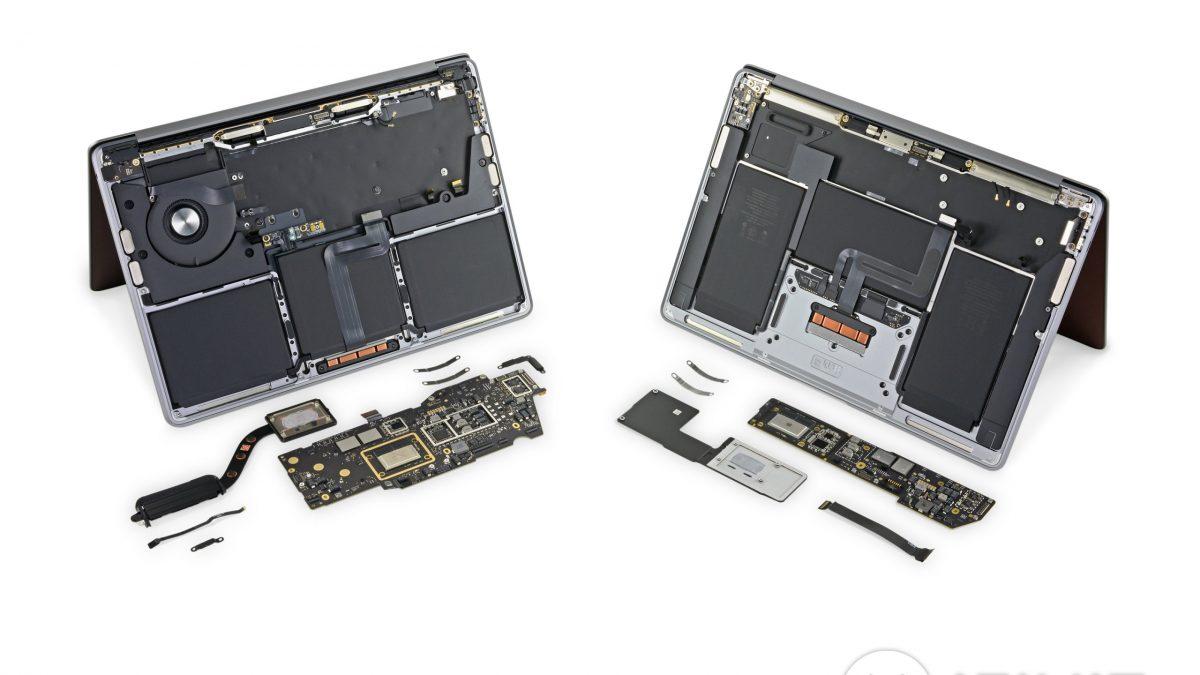 Расклопувањето на MacBook Air и MacBook Pro со M1 чип покажува мали промени