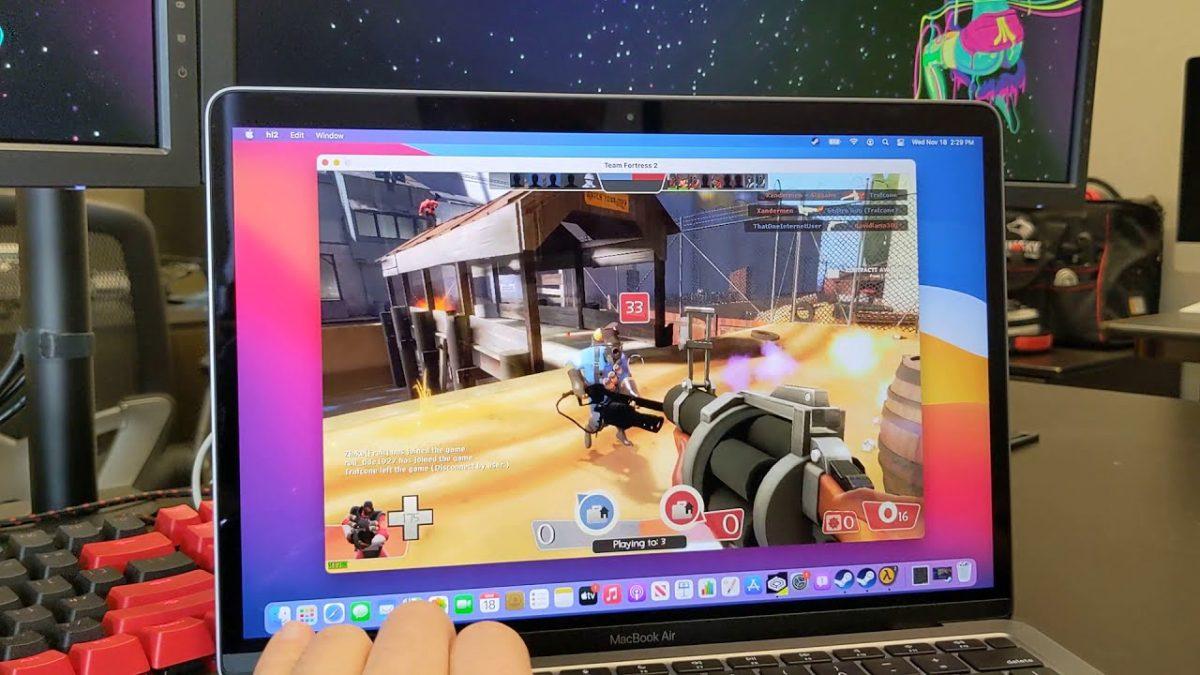 MacBook лаптопите со M1 чип можат да покренуваат Windows апликации и игри (ВИДЕО)