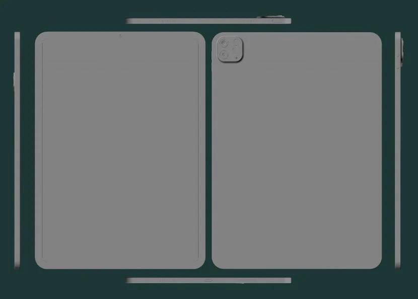 Рендери го откриваат дизајнот на новиот 12,9-инчен iPad Pro