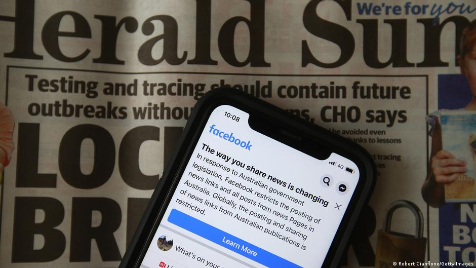 Блокадата на Facebook ја спушти посетеноста на австралиските онлајн медиуми