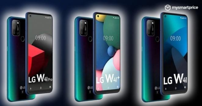 LG W41 серијата ќе ја сочинуваат три смартфони