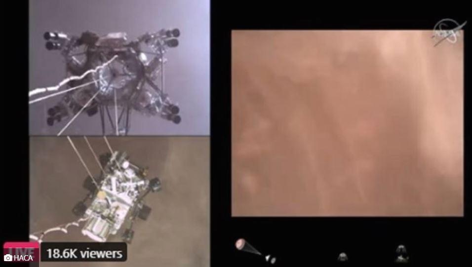 NASA објави снимка од слетувањето на Марс (ВИДЕО)