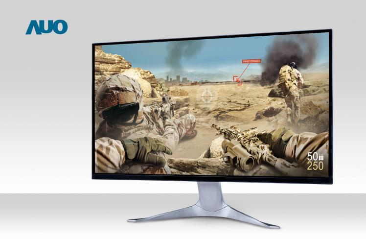 AUO подготвува 27-инчен 300Hz QHD и 32-инчен 8K4K монитор