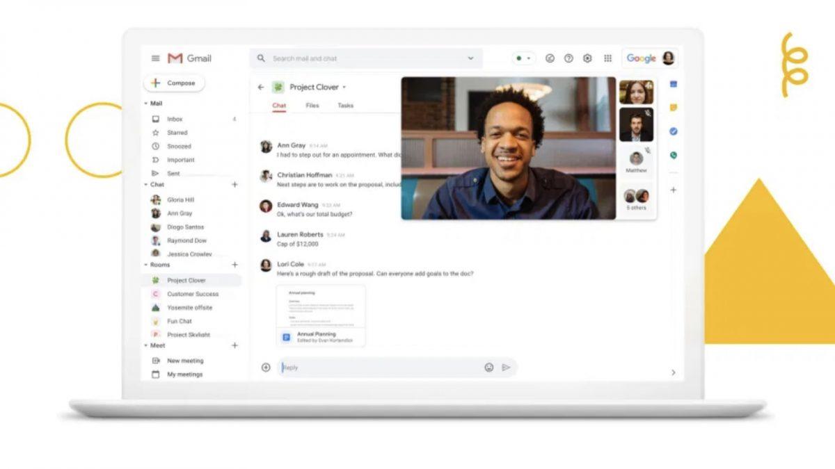 Наскоро пристигнува нов Gmail со Google Chat табови