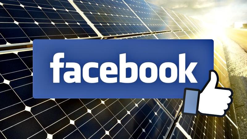 Facebook целосно премина на обновливи извори на енергија