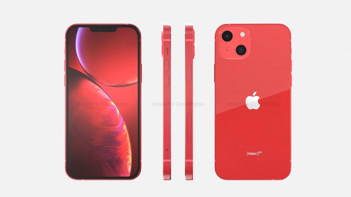 Рендери го прикажуваат iPhone 13 во Product Red верзија (ВИДЕО)