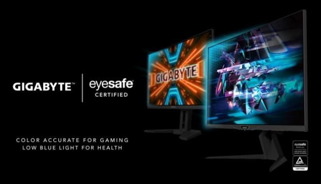 Gigabyte ги најави своите први Eyesafe гејминг монитори