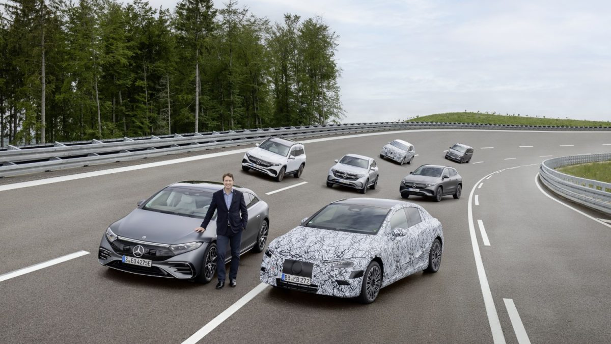 Mercedes ќе има електрична алтернатива за секој свој модел до 2025 година