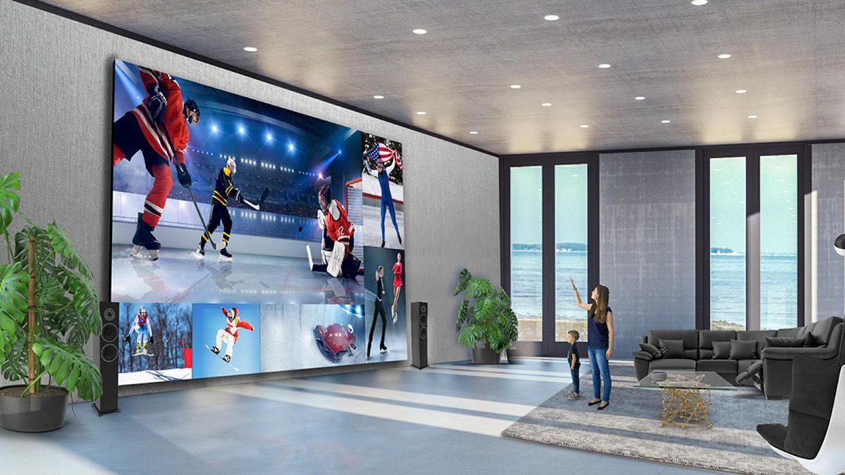 LG претстави 325-инчен Direct View LED TV