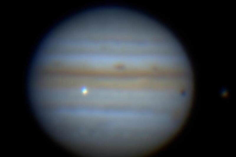 """Астероид го погоди Јупитер, """"белегот"""" е поголем од Земјата (ВИДЕО)"""