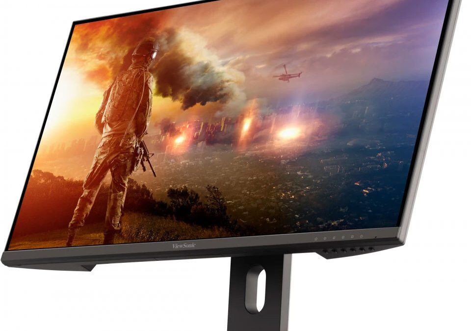ViewSonic претстави 28-инчен 4K монитор со поддршка за PS5
