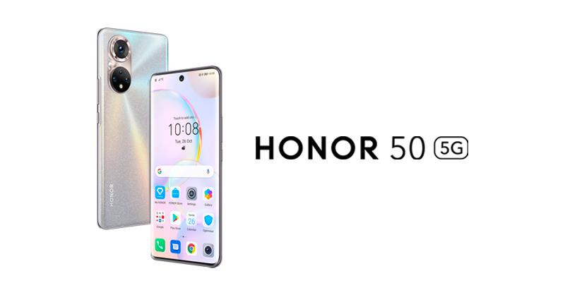Honor 50 ќе биде прв смартфон на компанијата со GMS поддршка